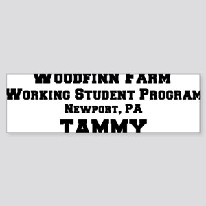 percheronu(woodfinnfarm-tammy) Sticker (Bumper)