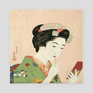 Goyo-Hashiguchi-Lady-and-Lip-Stick-Sta Queen Duvet