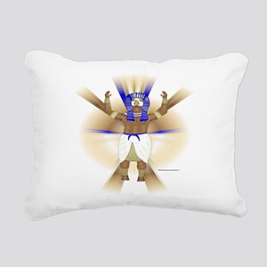 Horus Halo Rectangular Canvas Pillow