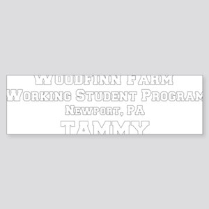 percheronu_black(woodfinnfarm_tam Sticker (Bumper)