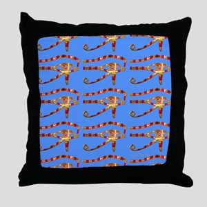 Eye of Re Throw Pillow