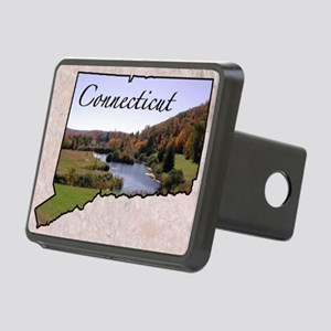 ConnecticutMap28 Rectangular Hitch Cover