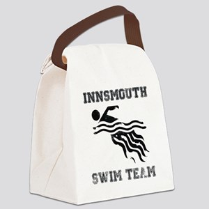 InnsmouthSwimTeam_distressedk Canvas Lunch Bag