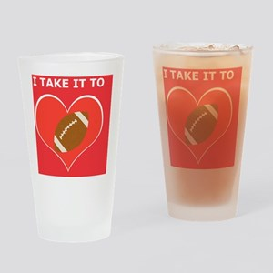 Football iPhone 4 Slider Case, Take Drinking Glass