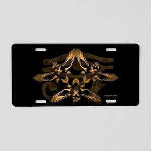 Heru Trifecta Aluminum License Plate