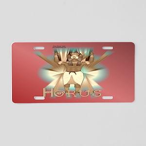 Horus Sepia License Plate