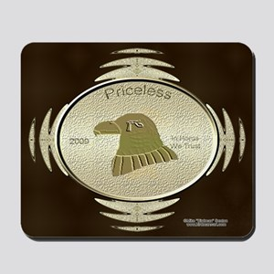 Heru Coin Mouse Pad
