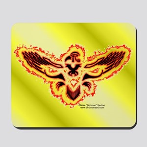 Tribal Red Horus Mouse Pad