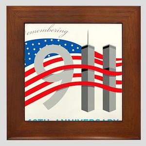 911_10thAnni01 Framed Tile