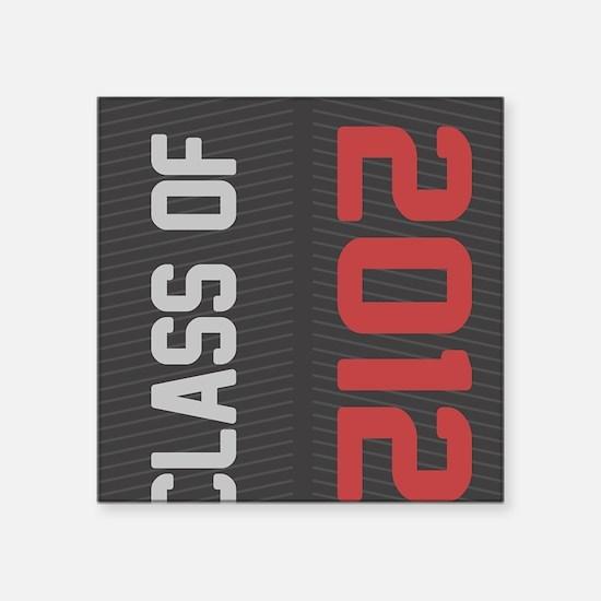 """2012 Square Sticker 3"""" x 3"""""""