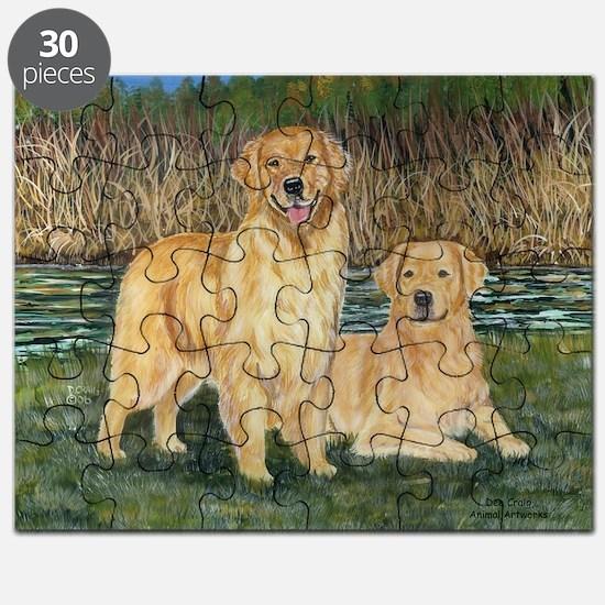 golden marsh pair Puzzle