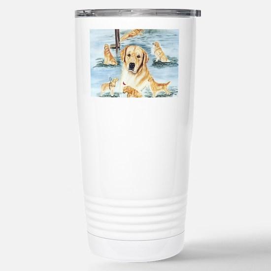Golden versatility Stainless Steel Travel Mug
