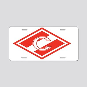 Spartak Moscow Aluminum License Plate