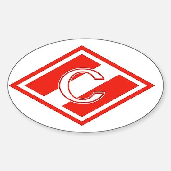 Spartak Moscow Sticker (Oval)