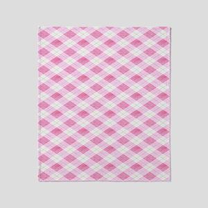 Pink Argile FF Throw Blanket