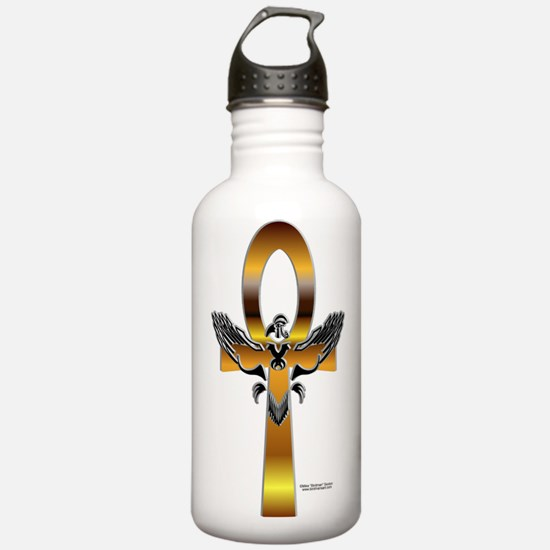 Heru Ankh Water Bottle