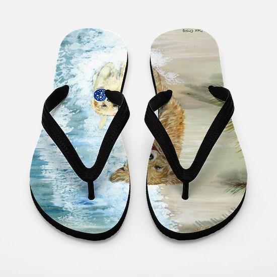 Golden Surf runners Flip Flops