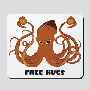 Free Hugs Giant Squid Mousepad