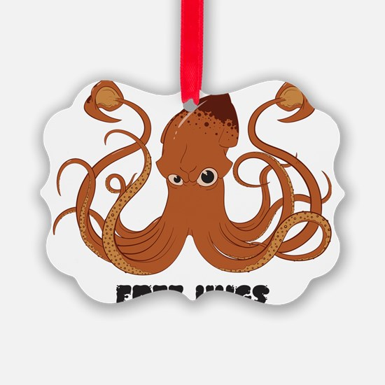 Free Hugs Giant Squid Ornament