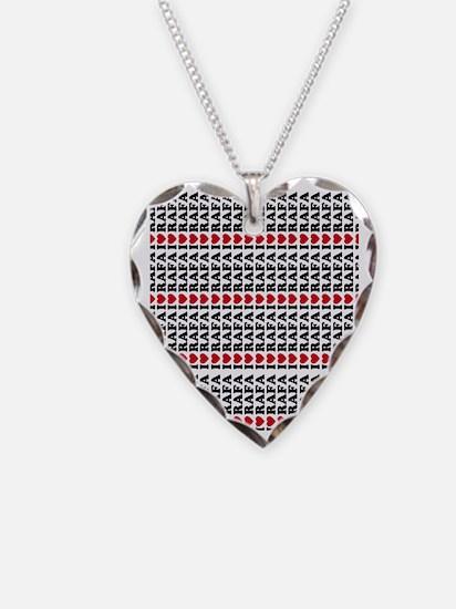 I Love Rafa FF Necklace