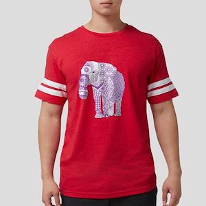 Tangled Purple Elephan T-Shirt