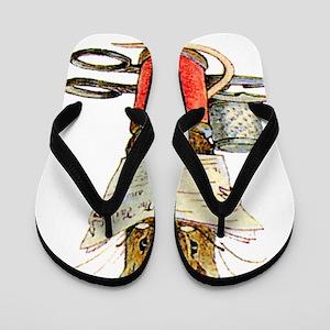 Beatrix Potter_tailor Flip Flops