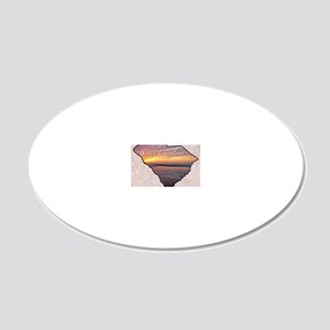 SCarolina 20x12 Oval Wall Decal