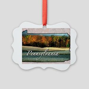 Pennsylvania Picture Ornament