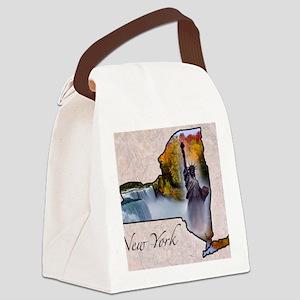 NewYork Canvas Lunch Bag