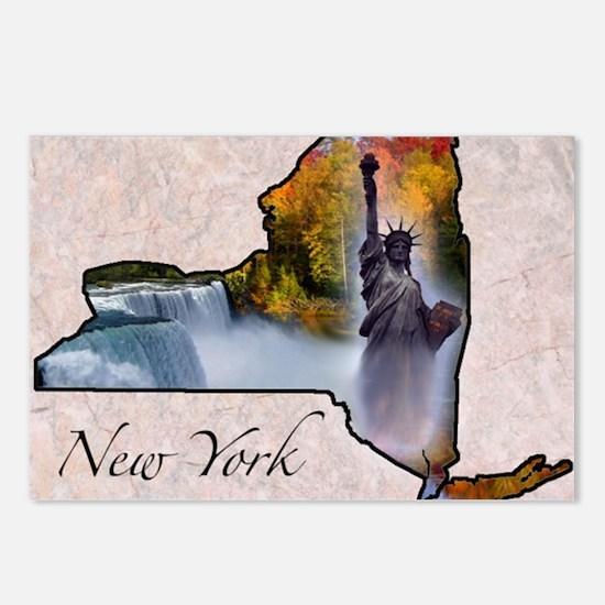 NewYork Postcards (Package of 8)