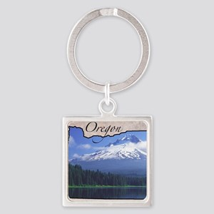 Oregon Square Keychain