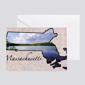 MassMap288 Greeting Card