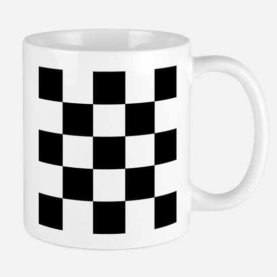 Black and White Square Mugs