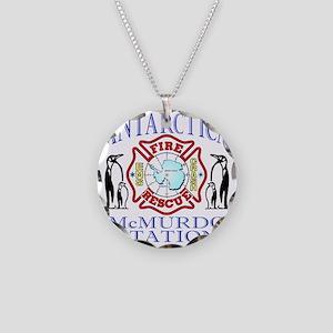 CPAntarPenColor Necklace Circle Charm