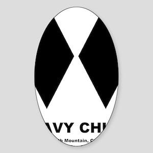 GRAVYCHUTE Sticker (Oval)