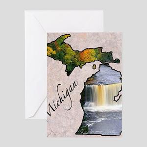 Michigan greeting cards cafepress michigan greeting card m4hsunfo Images