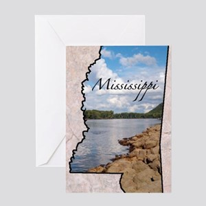 Mississippi Greeting Card