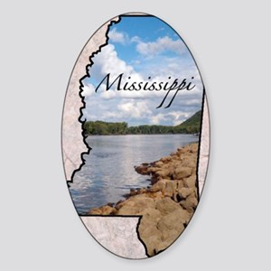 Mississippi Sticker (Oval)