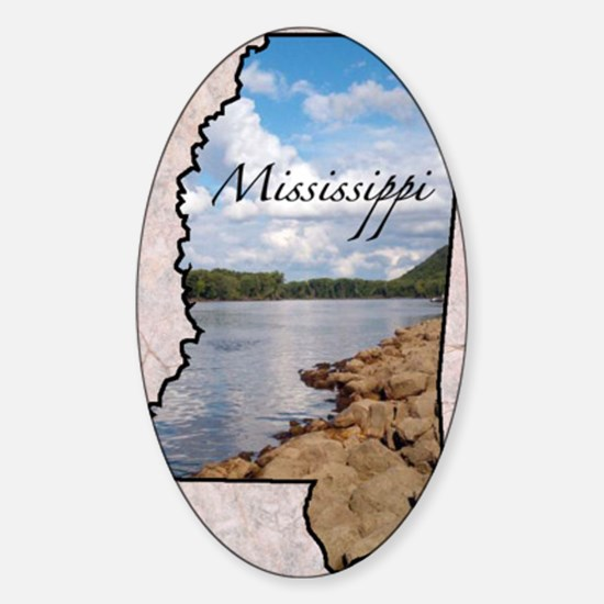 Mississippi Sticker (Oval)