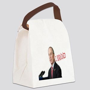 MAYOR Bloomberg_white2 Canvas Lunch Bag