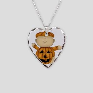 HALLOWEEN BABIES 01 Necklace Heart Charm