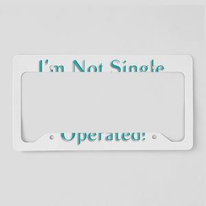 Im Not Single License Plate Holder