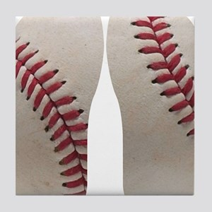 Baseball Tile Coaster