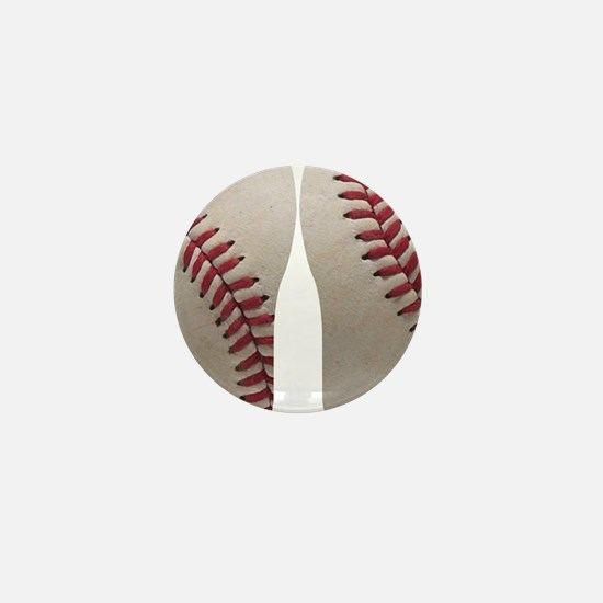 Baseball Mini Button