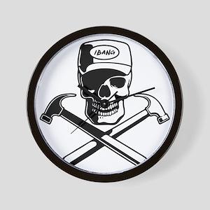 carpenter-pirate-T Wall Clock