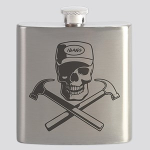 carpenter-pirate-T Flask