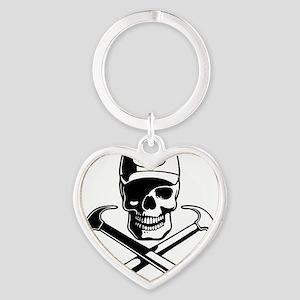 carpenter-pirate-T Heart Keychain