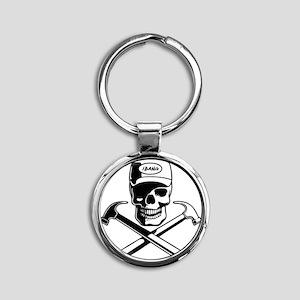 carpenter-pirate-T Round Keychain