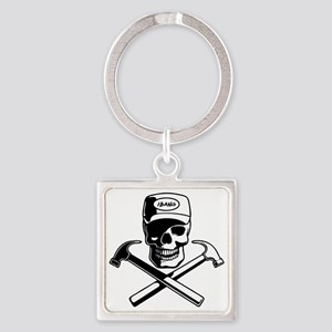 carpenter-pirate-T Square Keychain