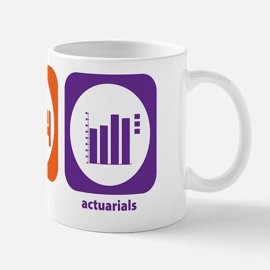 Eat Sleep Actuarials Mug